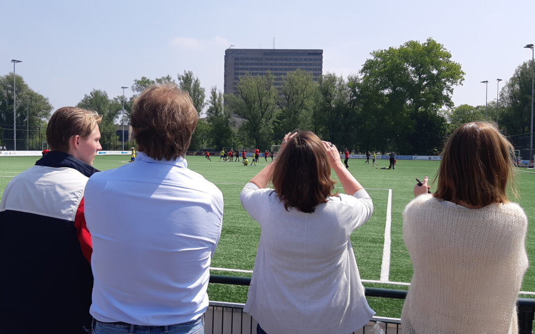 BVO (Best Veel Onrust). Thuistips voor voetbalouders tijdens corona.
